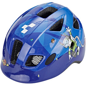 Cube Pebble Helm Juniors blue universe